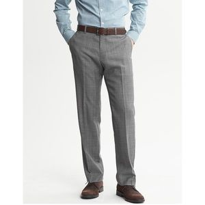 BANANA REPUBLIC SLIM TAILORED WOOL PANTS